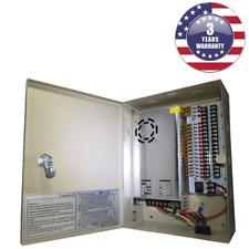 CCTV Power Supply Box 18 Ports 25 Amp 12V DC Output