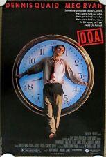 D.O.A. ~Original (1988) 27x40 Movie Poster DENNIS QUAID ~ ROLLED MINT CONDITION!