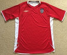 Authentic Umbro ENGLAND Soccer Jersey Football Shirt - Mens L - VGC