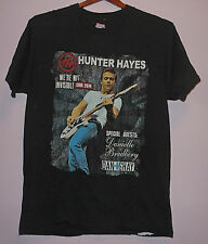 Hunter Hayes We're Not Invisible 2014 Concert Tour T Shirt Black S