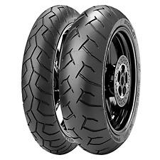 Coppia gomme pneumatici Pirelli Diablo 120/70 17 160/60 17 Yamaha XT 660 X