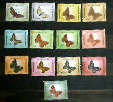 Irran 2003-2005 butterflies insects set 13v MNH