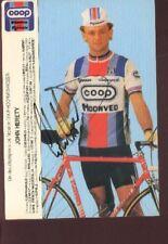 JOHN HERETY cyclisme Signée COOP Autographe cycling ciclismo radsport hoonved