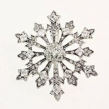 SNOWFLAKE PENDANT AND PIN