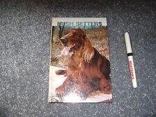 Irish Setters  Hardback book  1979