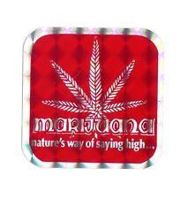 Marijuana Sticker Classic Vintage 80's Sticker / Decal Rare 420 Cannabis Decal