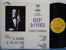 BUDDY DeFRANCO--AL RAYMOND Born to Swing NM 1988 MEGA RARE PRIVATE PRESS Al Grey