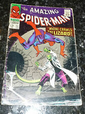 The Amazing SPIDER-MAN Comic - Vol 1 - No 44 - Date 01/1967 - Marvel Comic