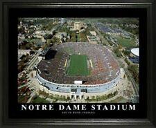 "Notre Dame Stadium FRAMED 22""x28"" aerial photo"