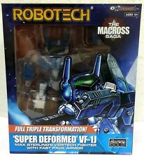 Macross Robotech Super Deformed Vf-1J Max Valkyrie with Fast Pack Armor