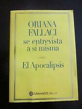 Oriana Fallaci Se Entrevista a Si Misma : El Apocalipsis(PAPERBACK,2005)