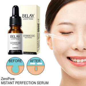 Zero Pore Face Serum 10ml Lactobionic Acid Best for Anti-Wrinkle & Aging Essence