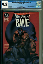 Batman: Vengeance of Bane Special #1 CGC 9.8 DC 1993 1st Bane! M7 113 cm clean