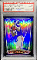 Odell Beckham Jr 2014 Bowman Chrome Black Refractor Rookie /299 Mint RC PSA 9
