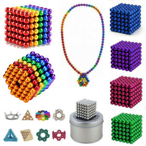 3/5MM Magnets Magic Balls Multicolor Beads 3D Puzzle Ball Sphere Magnetic Toy Yf
