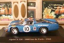 ALPINE A220 1000KM DE PARIS 1968 ELIGOR 1/43 BLEU BLUE