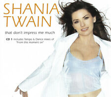 SHANIA TWAIN: THAT DON'T IMPRESS ME MUCH (CD1 & CD2)