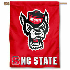 North Carolina State Wolfpack NC State University College House Flag