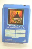 Mountain Live The Road Goes Ever On 8 Track Tape Good Condition, Untested {B167}