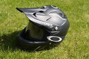 O'Neal downhill/scrambler full-face bike helmet. Good, used condition. Size L.