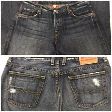 Lucky Brand Womens Jeans Size 8/29 Easy Rider Dark Wash Distressed