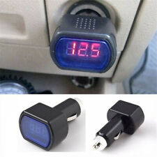 Digital LED Voltage Meter Car Battery Electric Tester Plug in Cigarette Lighter