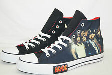Converse Chuck All Star High taille 45 UK 11 AC/DC Highway to Hell 111073 de 2008