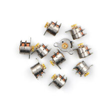 10pcs Micro 2-Phase 4-Wire Stepper Motor Stepping Motor 9T Copper Gear K&Y