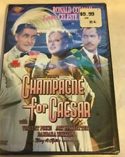 CHAMPAGNE FOR CAESAR VERY RARE SEALED NEW DVD OOP Vincent Price Ronald Colman