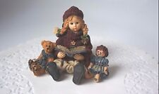 YESTERDAY'S CHILD/ DOLLSTONE COLLECTION: STYLE 3504: MEGAN WITH ELLOT AND ANNIE