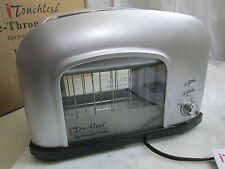 iTouchless 2-slice SIlver See-Through Automatic Toaster SHT2GS