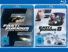 The Fast and the Furious 1+2+3+4+5+6+7+8 [Blu-ray]