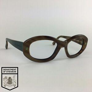 DOLCE & GABBANA eyeglasses MOTTLED BROWN OVAL glasses frame MOD: DG519S 269