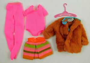 VINTAGE 1960's MATTEL BARBIE SKIPPER YOUNG IDEAS SEARS EX JACKET #1513 OUTFIT