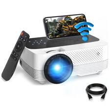 1080P Full HD Projektor Videoprojektor Beamer Heimkino WiFi 6500 Lumen LED Mini
