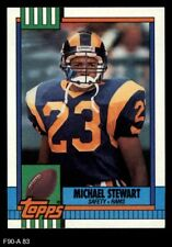 1990 Topps #83 Michael Stewart Rams NM/MT