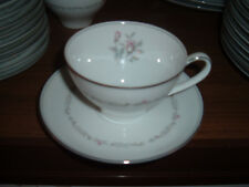 Lot of 12 Noritake Mayfair China Cups and Saucers