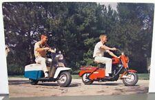 1960 Cushman Scooter Dealer Promotional Post Card Road King Super Eagle Vintage