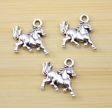 20 pcs Very beautiful Horse pentium Tibet silver Charm pendant 15x14 mm