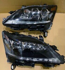 2013 14 15 Lexus GS350 GS450h Triple Beam LED Left & Right Set Headlight OEM