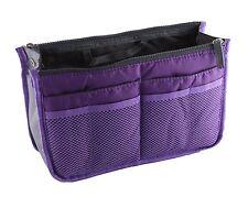 Organiseur / Pochette de rangement intérieur pour grand sac à main- Violet