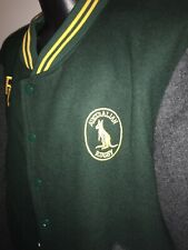 Rare Vintage Australian Rugby Union Wallabies Pure Wool Jacket