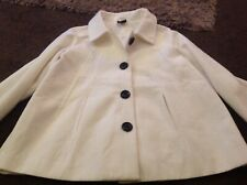 Gorgeous Washable Fully Lined Winter White Jacket From TG Size 22