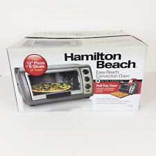 "Hamilton Beach Easy Reach Convention Toaster Oven 12"" Pizza 6 Slices Toast 9103"