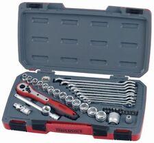 Teng Tools T3840 40pc 1cm Llave de Vaso, Broca, Accesorios & Juego de Llaves