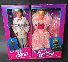 Dream Glow Barbie Doll & Ken Doll Vintage 1985 Classic NRFB VG