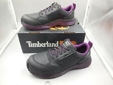 BARELY USED WOMEN'S 9.5 TIMBERLAND PRO REAXION COMPOSITE SAFETY TOE WORK SHOES