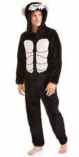 Mens Sz L 42-44 Gorilla Ape Dress Up Costume Sleepwear Pajamas Union Suit 1pc.