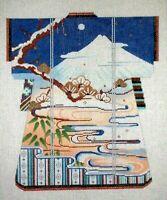 MZC Oriental Kimono by Sophia Designs HP Hand Painted Needlepoint Canvas