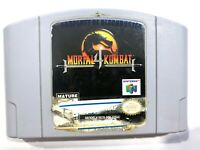 Mortal Kombat 4 NINTENDO 64 N64 Game Tested + Working & Authentic!